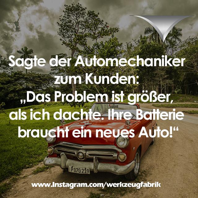 Witz Automechaniker