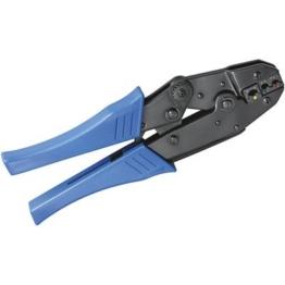 Crimpzange 02 aus Metall für isolierte Kabelschuhe -