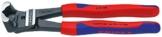 KNIPEX 61 02 200 Bolzen-Vornschneider hochübersetzt schwarz atramentiert mit schlanken Mehrkomponenten-Hüllen 200 mm -