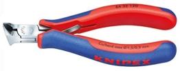 Knipex 64 32 120 Elektronik-Vornschneider mit Mehrkomponenten-Hüllen 120 mm -