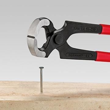 Knipex 51 01 210 Hammerzange schwarz atramentiert mit Kunststoff überzogen 210 mm - 2