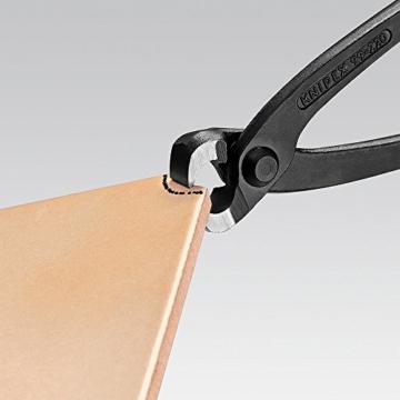 KNIPEX 99 00 280 Monierzange (Rabitz- oder Flechterzange) schwarz atramentiert 280 mm - 4