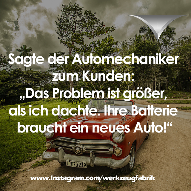 Witz Automechaniker