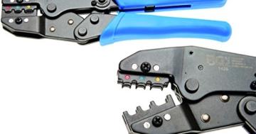 BGS 1426 Kabelschuhzange mit Ratschenfunktion 0,5 - 6 mm² für isolierte Verbinder -