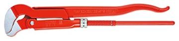 KNIPEX 83 30 020 Rohrzange S-Maul rot pulverbeschichtet 540 mm -