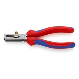 KNIPEX 11 02 160 Abisolierzange mit Mehrkomponenten-Hüllen -